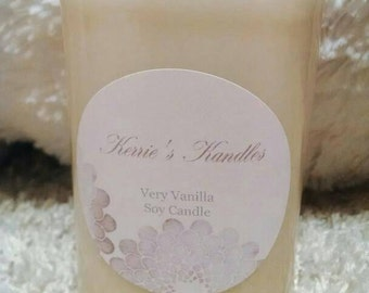 Very Vanilla 100% Soy Candle