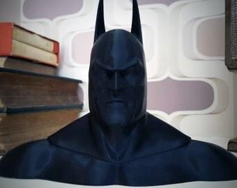 3D Printed Comic-Book Hero Bust