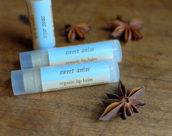 Sweet Anise - organic lip balm with essential oils