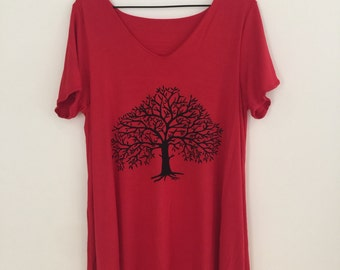 womens tree of life shirt