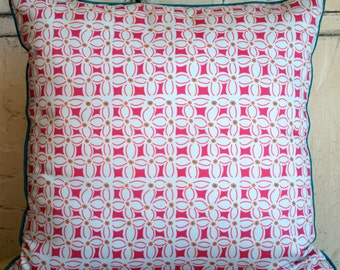 Custom made Organic Cotton decorative pillow