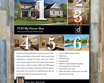Real Estate Flyer #1 | 1 sided