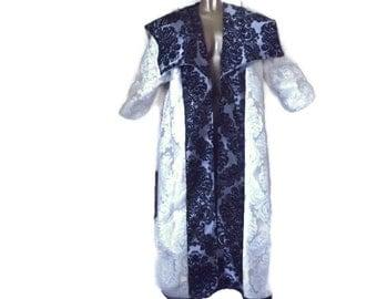 Brocade coat/robe - LARP , banquet costume