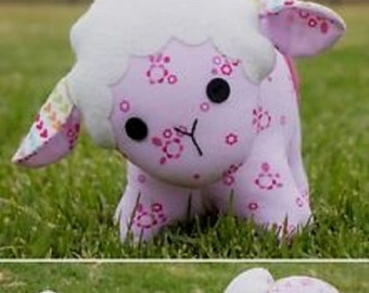 "Melly and Me pattern by  Melanie McNeice     ""Baa Baa"" the Sheep  Stuffed Toy"