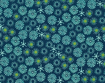 "Victoria and Albert for Westminster Fabrics  ""Godwin""  Starlight  Pool"