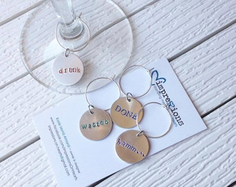 Wine Glass Charms -Glass Charms