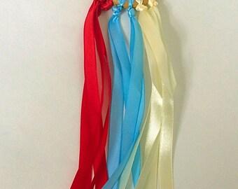 Hand Kite, Dancing Ring, Ribbon Wand, Montessori, Waldorf