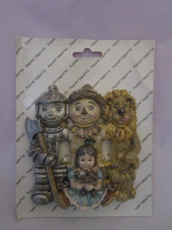 Wizard of Oz Ceramic Switchplate cover
