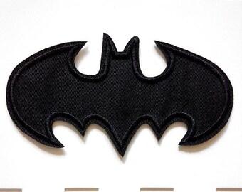 Batman Dark Knight Logo Iron On Patch
