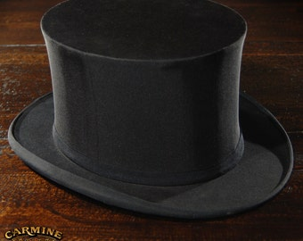 Vintage French Top Hat 7 1/4""