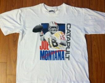 Vintage Joe Montana 'Catapult' for LA Gear XL