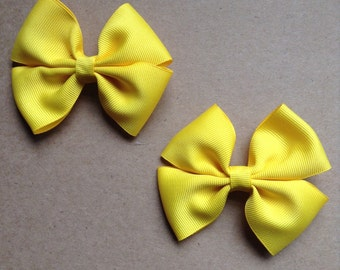 Yellow Hair Clips