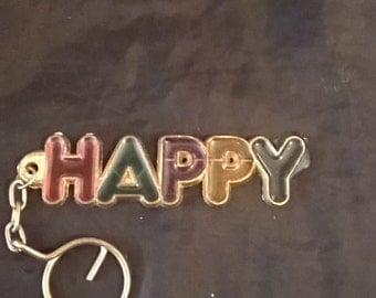 Happy Key chain