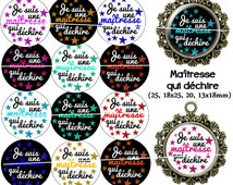 60 digital images for cabochons for mistress tearing. 25, 18 x 25, 20, 13x18mm