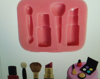 Silicone Make Up mould