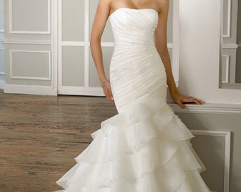 Wedding dress -  Mermaid Plus size