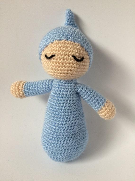 Crochet Amigurumi Doll Head : Crochet Amigurumi Sleepy doll Stuffed Toy Doll Children Gifts