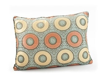 Moroccan Upholstered Cushion- Circle