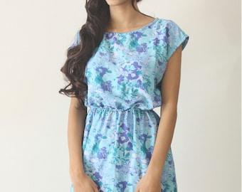 UMe Short Blue Periwinkle Dress