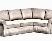 Items Similar To Pottery Barn Comfort Roll Arm Sectional