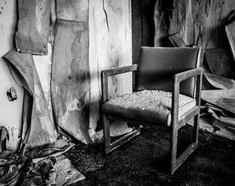 Still Chair - Photography Print - Multiple Sizes - Archival Metallic Print