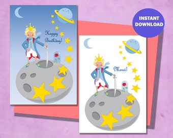 Card Set - The Little Prince - Blonde