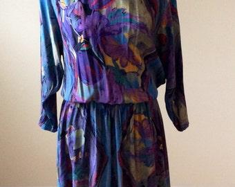 Carole Little dress/ vintage dress