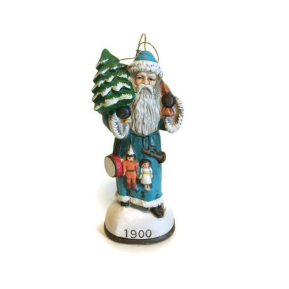 Vintage christmas ornament memories of santa collection 1900 for Collecting vintage christmas ornaments