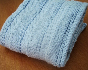 Beautiful Baby blanket, for gift or for your own baby.