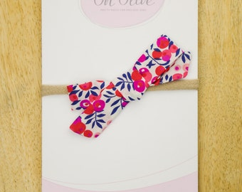The Isla | Red Poppy Bow | Liberty of London