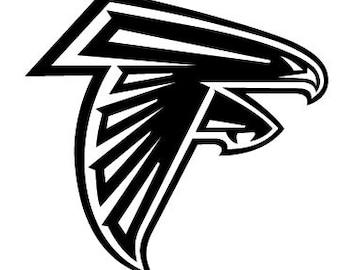 Atlanta Falcons decal, atlanta falcons football decal, atlanta falcons vinyl decal, football team decals, sports team decals, falcons team
