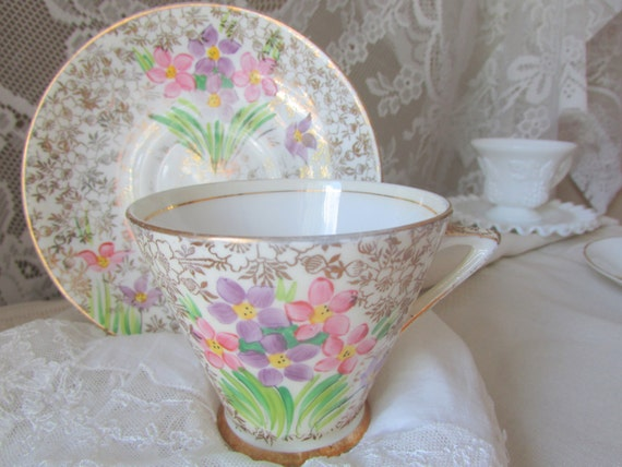 Funky Phoenix Bone China Cup And Saucer