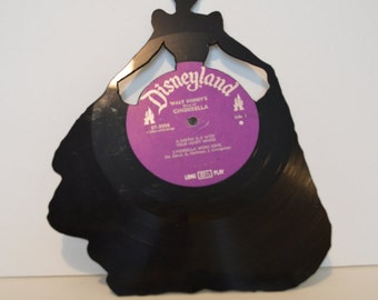 Home Made Cinderella Vinyl Record Silhouette