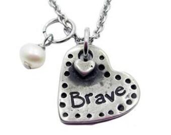 Brave Heart Necklace