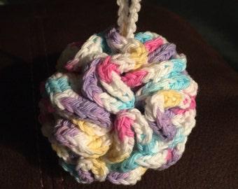 Crochet Bath Pouf