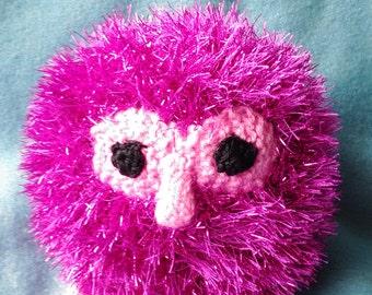 Shiny Pink Owl