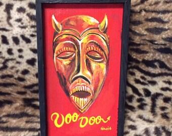 Voodoo devil mask
