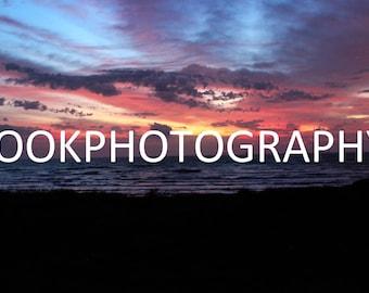 Beach Sunset Photo Print