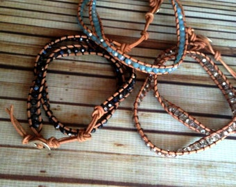 Double crystal bracelet