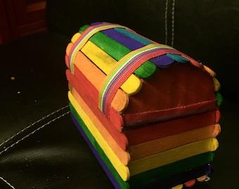 Rainbow Treasure Chest ANY STYLE