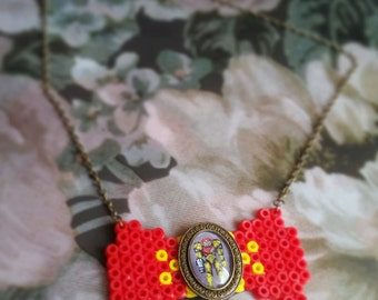 Metroid necklace