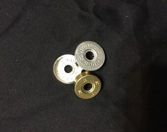 Empty shotgun shells