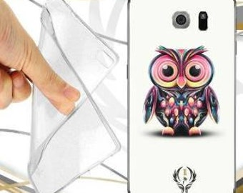 Colored OWL case cover for samsung galaxy s6 duos