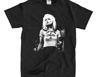 Blondie - Debbie Harry - Black T-shirt