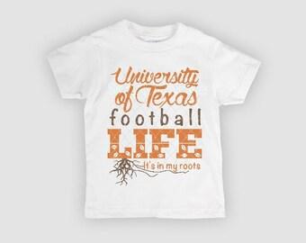 UT, UT Football, University of Texas, Longhorn, UT toddler shirt, ut onesie