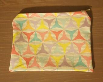 Multi color small zipper pouch