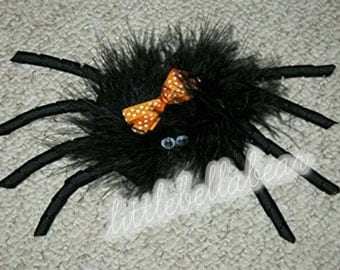Itsy bitys spider Hair Bow Halloween