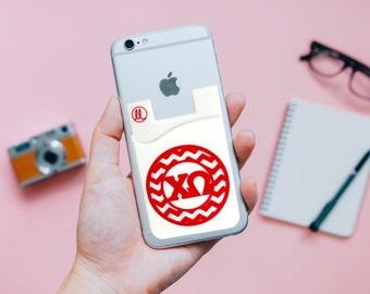 Chi Omega Phone Wallet