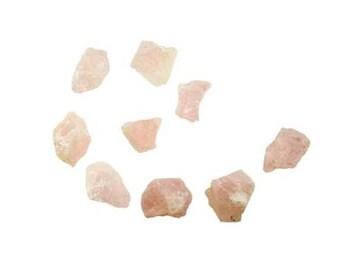 1lb. Rose Quartz Raw Untumbled Stones