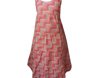 iramdesigns African Print maxi sleeveless dress
